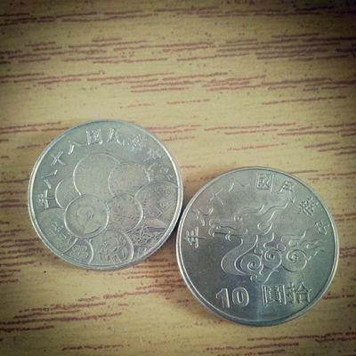 收集到第二個紀念幣 ⊙▽⊙