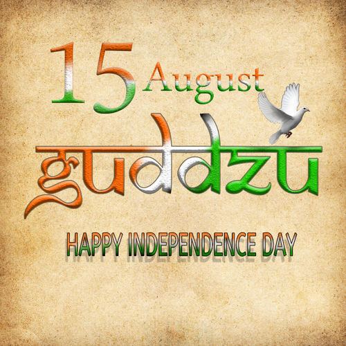 Happy Independence day Faith Sacrifice Peace Pegion Background India Flags Multi Colored