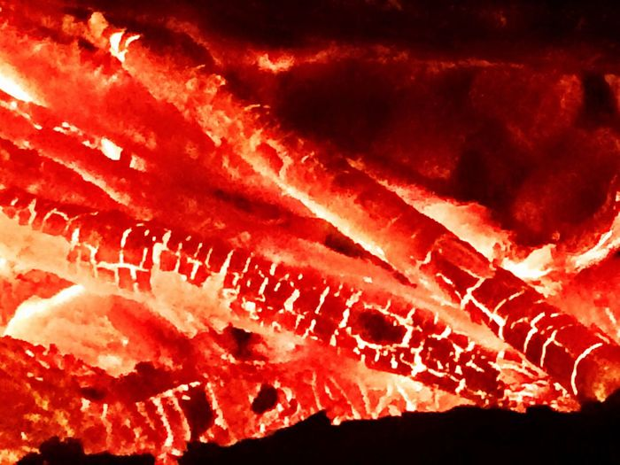 Fire Glowing