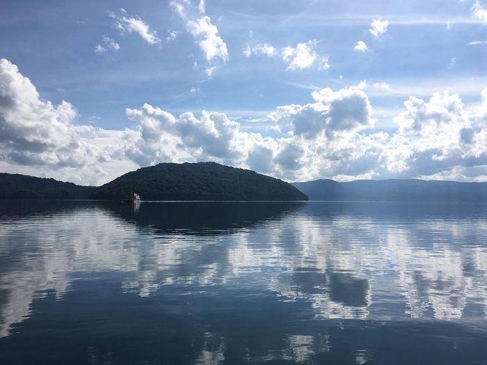 Lake Lake View Towada  Aomori Mirror Japan