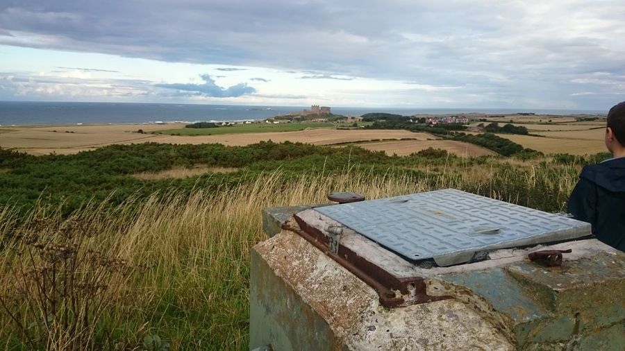 Bamburgh roc post with bamburgh castle in the background Bamburgh Roc Post Bamburgh Bamburghcastle ROC Royal Observer Corps Bunker Nuclear Bunker Roc Northumberland North East NORTHEASTENGLAND Northumberland North East England Hidden Northumberland The Purist (no Edit, No Filter) Enjoying Life Relaxing Uk 2015