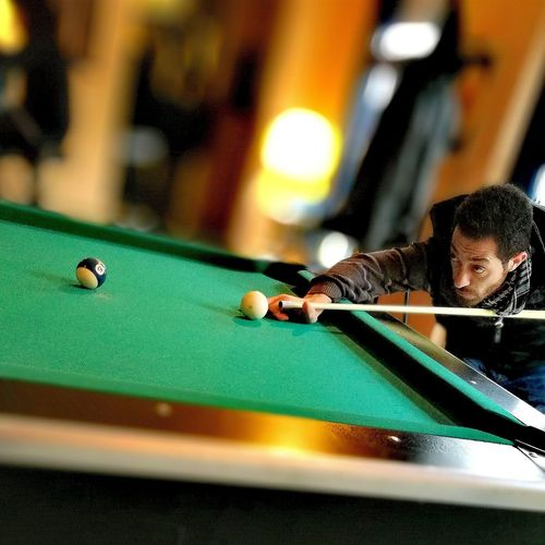 Pool - Cue Sport One Person Fun Sport Time Adult Biliardo Biliard Biliardo Time BiliardTime Balls