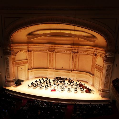 Indoors  No People Architecture Day Carnegie Hall NYC New York City Manhattan New York New York City