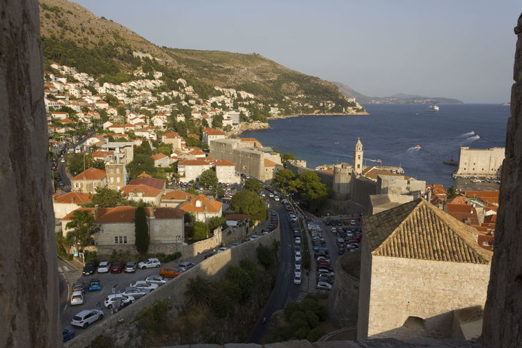 Dubrovnik Dubrovnik, Croatia Croatia Outdoors Cityscape Top View View From The Top Architecture Built Structure Building Exterior Building City Water Residential District Mountain High Angle View Nature Sea Town Day Sky No People House Community TOWNSCAPE