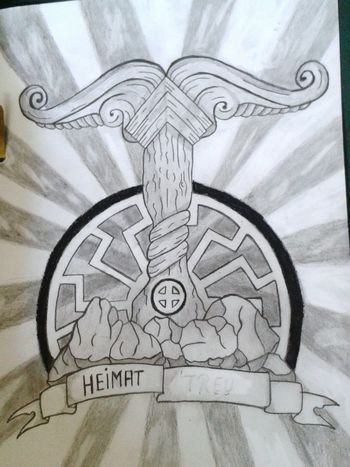 Tattooflash Drawing ✏ Heimat❤❤❤ Art Is Everywhere
