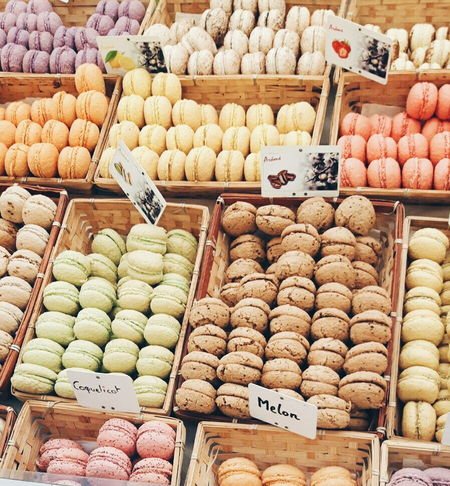 Food Outdoors Day Macarons La France Market