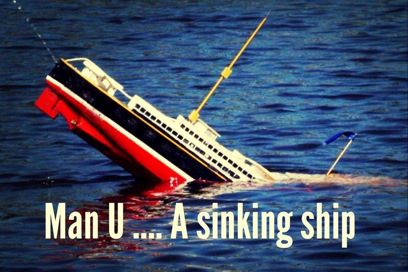 Anfield Liverpool Soccer Manchester Utd a sinking ship