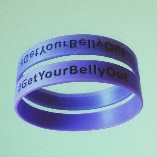 Band Getyourbellyout Floating Mirror Charity