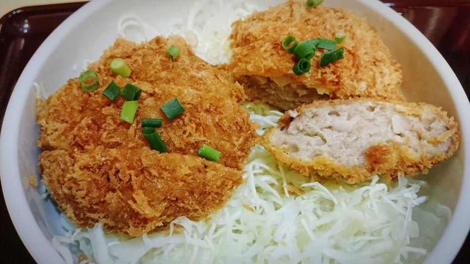 Kameari Lunch Time! メンチカツ どんぶり 亀有メンチにて、メンチカツ丼を頂きました!