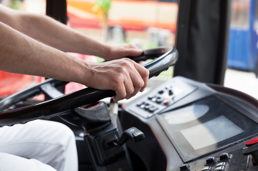 Bus or coach driver Coach Driver Driving Transport Transportation Traveling Autobus Bus Bus Driver Coach Driver Dashboard Drive Driving Licence Driving License Human Hand Job Profession Steering Wheel Transportation Vehicle