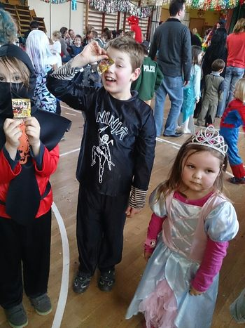 Carneval in Germany . Costume Party