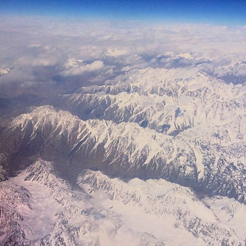 The Great Outdoors With Adobe From An Airplane Window Earth Mountains Snow From My Point Of View Enjoying The View Hello World EyeEm Around The World Travel By Puk✈️
