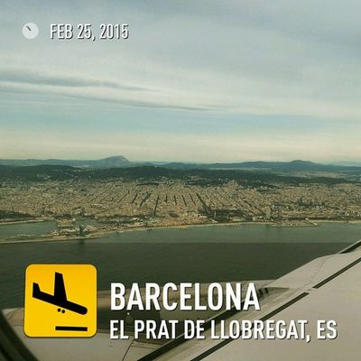 Approaching Barcelona for Freqs and Mwc15 . Lufthansa Barcelona EndlessSummer