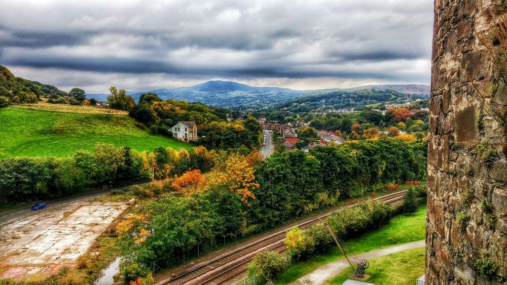 Conwycastle Conwy Whataview EyeEm Best Shots EyeEm Best Edits Eye4photography  Hello World Enjoying Life Autumn🍁🍁🍁 From My Point Of View Castle View  Mountains Sunset #sun #clouds #skylovers #sky #nature #beautifulinnature #naturalbeauty #photography #landscape