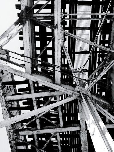 Chicago El The El Train Tracks Blackandwhite Blackandwhite Photography Black And White