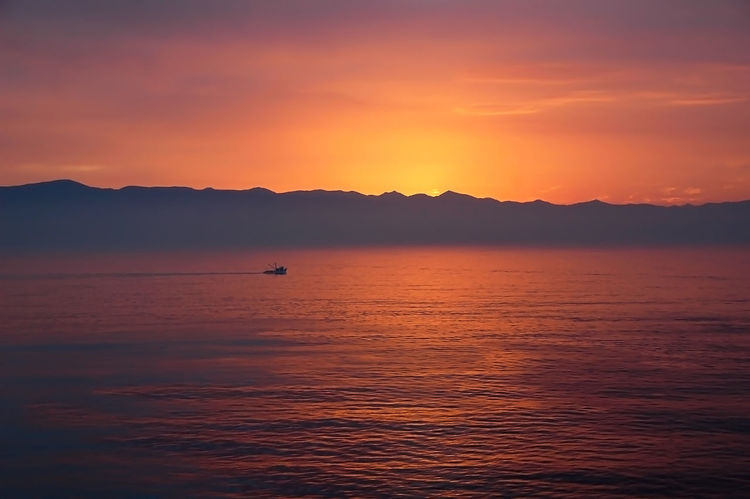 Ensenada Mexico Solitary Sunset_collection Travel Vista Beauty In Nature Glowing Horizon Over Water Nature Nautical Vessel No People Orange Color Outdoors Scenics Sea Seascape Silhouette Sky Sunset Tranquil Scene Tranquility Travel Destinations Vacation Water