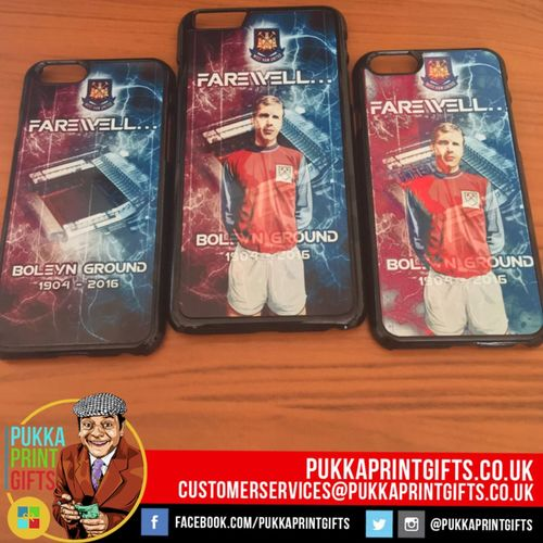 Literally just done these cases 😜 All our own art #WHUFC we do any images inc family etc! Pukkaprintgifts@gmail.com Whufc