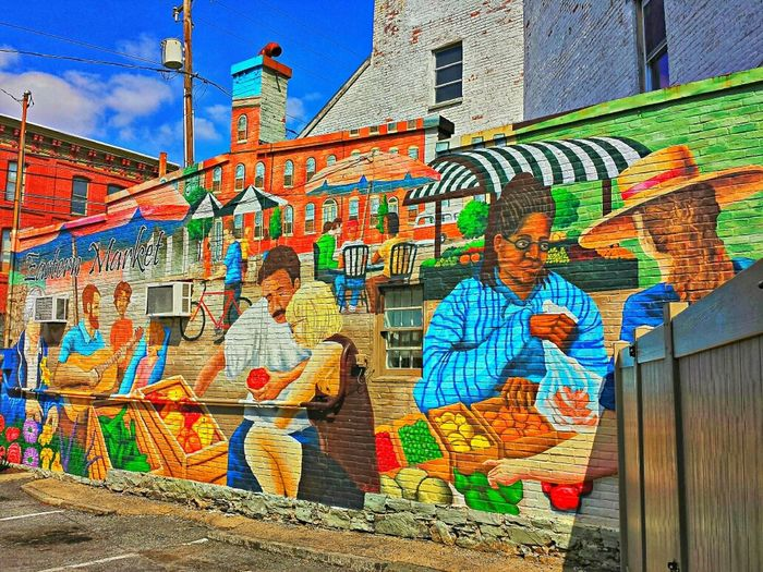Beautiful mural at the historic Eastern Market. Streamzoofamily Hdr_Collection Urban Landscape Street Art