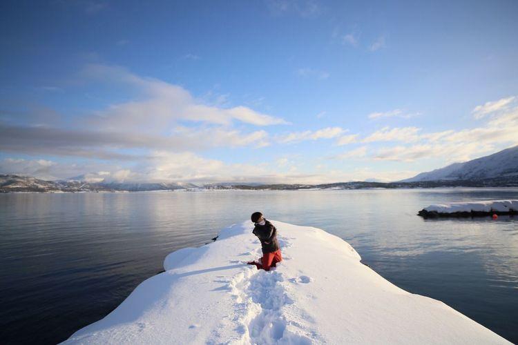 Me Larsang In Tromso Norway🇳🇴