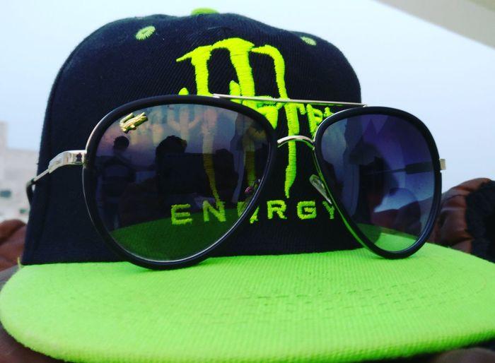 Cap Green Goggles