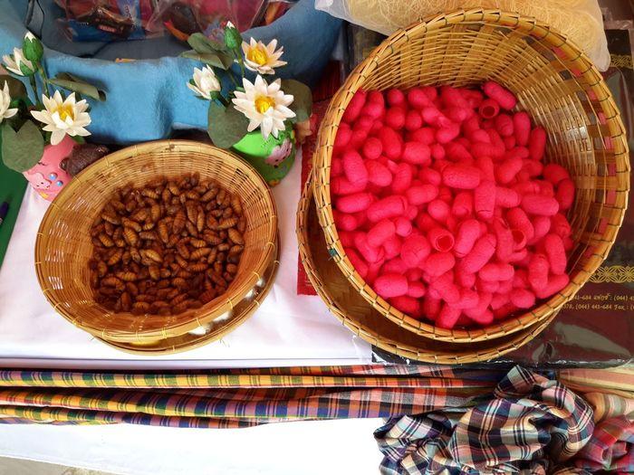 Focus On Foreground Slikworms Slik Art Close-up Colors basket