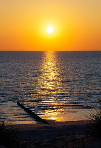 Sunset Kampen Beach Kampen, Sylt Sonnenuntergang Sylt Strand Sylt, Germany Beauty In Nature Horizon Over Water Idyllic Nature No People North Sea Ocean Orange Color Outdoors Reflection Scenics - Nature Sea Silhouette Sky Sun Sunlight Sunset Sylt Tranquil Scene Water