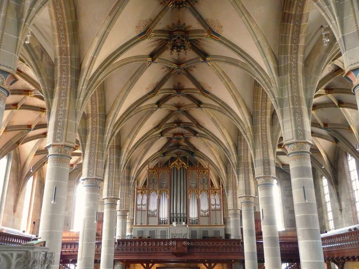 St. Michael Organ Kirche Church Schwäbisch Hall St. Michael Germany Church Architecture EyeEm Selects Architecture Arch Religion History Ceiling Indoors  Place Of Worship Architectural Column No People Travel Destinations