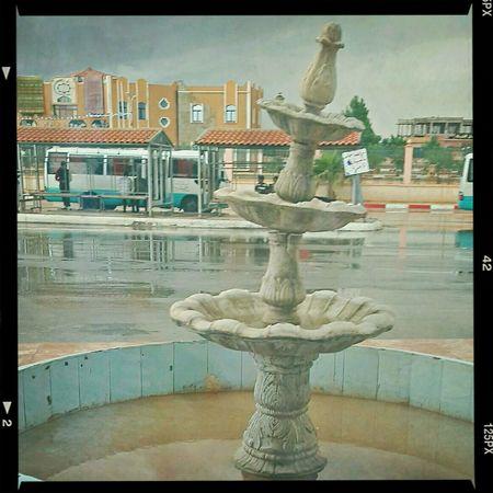 Rainy day at bus station Rain ♥ First Eyeem Photo