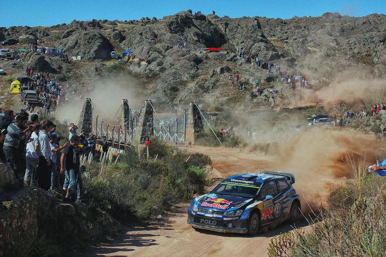 Argentina Car Condor-copina Dirt Dust Rally Rally Car RedBull Sebastian Ogier Sports