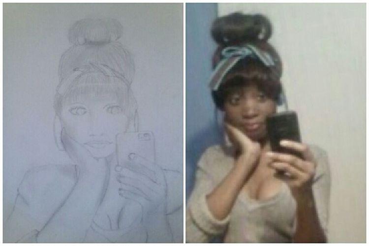 I get bored so I draw, like now.... kik me ur pic @WildBoyKeith if u want me 2 draw ur pic...