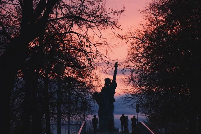 Liberty is every breath that is in your lungs. Paris Sunset The EyeEm Facebook Cover Challenge My Happy Place
