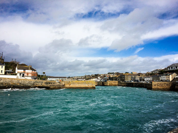 Porthleven Harbour Fishing Village Fishing Harbor Harbour Harbour View Cornish Coast Cornwall Fishing Porthleven Sea Sky Village Village Life Water Waterfront