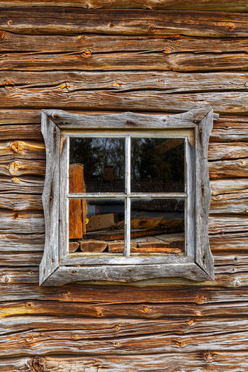 Old window in a