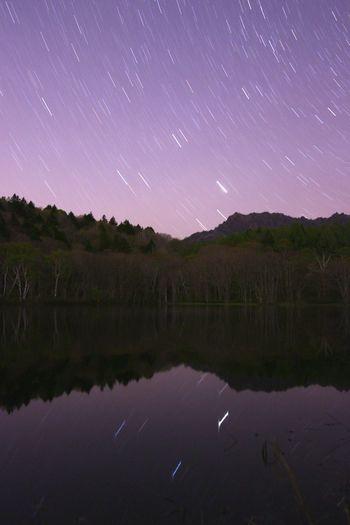 待つ事・・・10分・・・聴こえるのは🐸とスマホのタイマー音😅 銀河鉄道の夜♪ Landscape Astronomy Galaxy Space Milky Way Star - Space Astrology Sign Constellation Mountain Star Trail Star Field Planet - Space