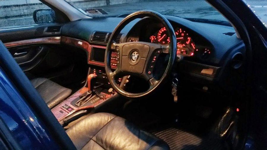 #528i #allleatherinterior #Blue #BMW #drivingmachine Car Interior Mode Of Transport