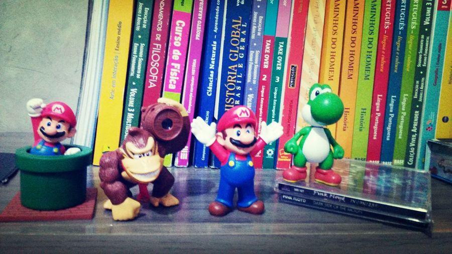 Super Mario Donkey Kong Yoshi Infancia