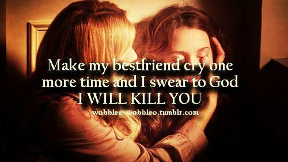 I Will Kill U D:<