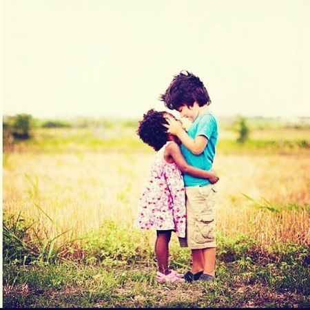 omg this is the cutest thing ever . #whiteboy #blackgirl