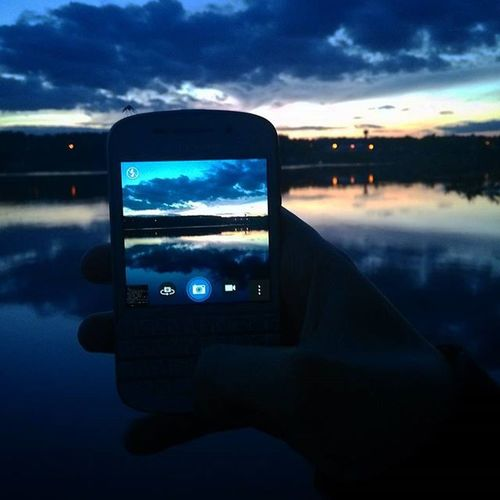 Sunset Blackberry Закат Russia люберцы  Дзержинский