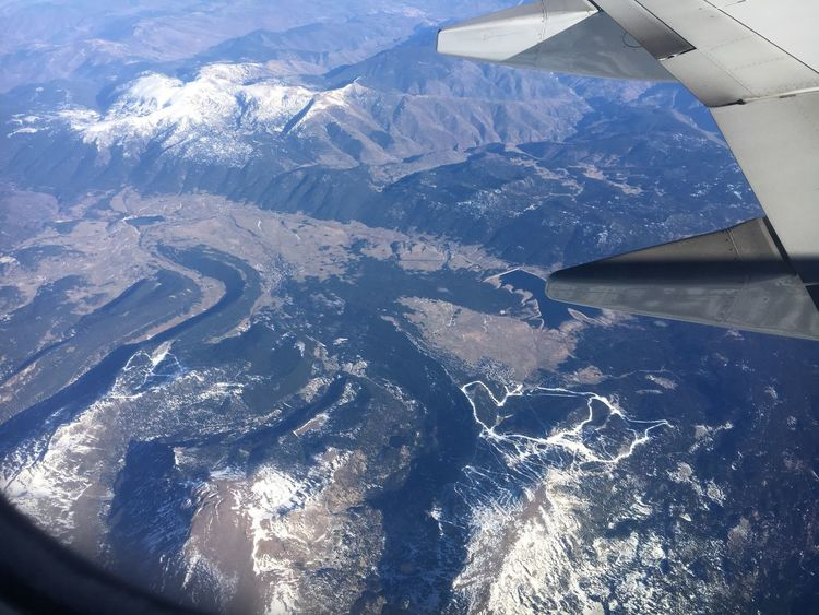 Aerial View Airplane Journey Flying Scenics Beauty In Nature SPAIN