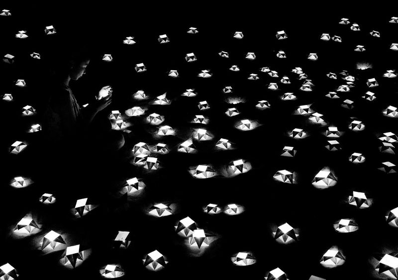 Monochrome Photography Eyeem Philippines our lady of the paper lanterns