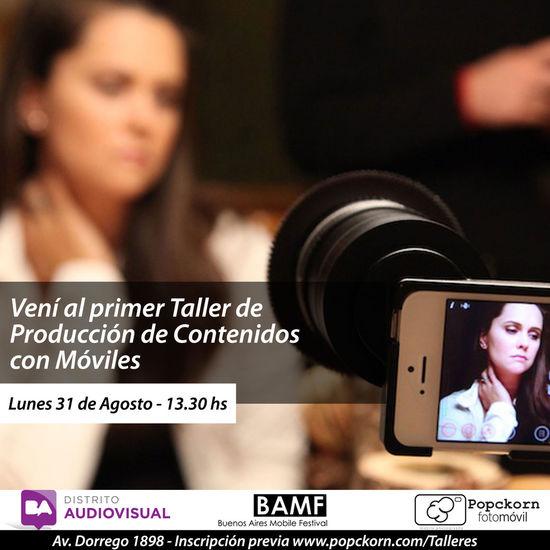 Primer Taller de Produccion de Contenidos Móviles Buenos Aires Distrito Audiovisual Workshop EyeEm Buenos Aires Popckorn First Eyeem Photo EyeEm Argentina Buenosaires Palermo