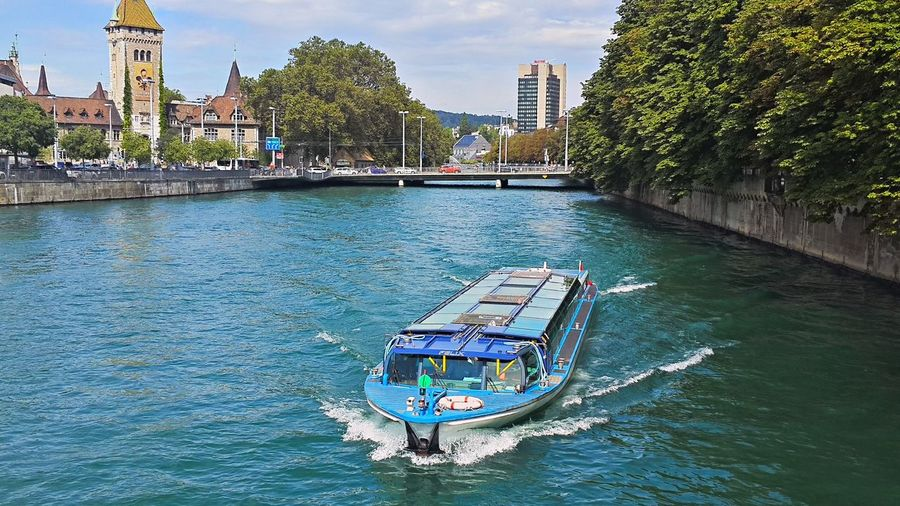 Limmatschiff Architecture Boat Building Exterior Built Structure Limmat Limmatquai Mode Of Transport River Schweiz Switzerland Travel Destinations Water Waterfront Zürich