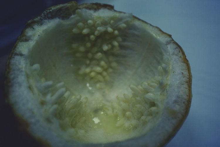 Food And Drink Close-up Food Fruit No People Marakuja Yellow Selective Focus