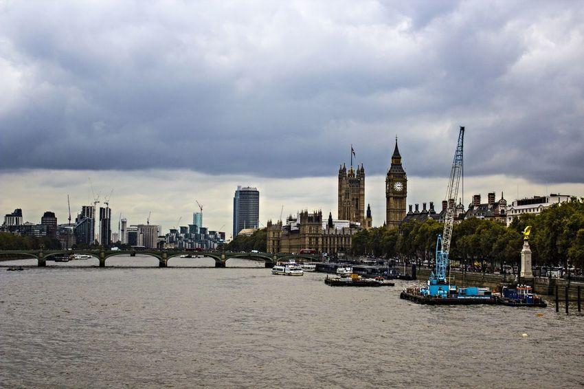 Big Ben London Eye Londonview View Over London