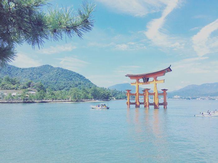 Miyajima Heritage Summerday Hiroshima Itukushima Shrine