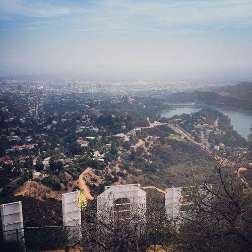 Потрясающие виды на город со знака Hollywood USAtrip La Hollywoodsign