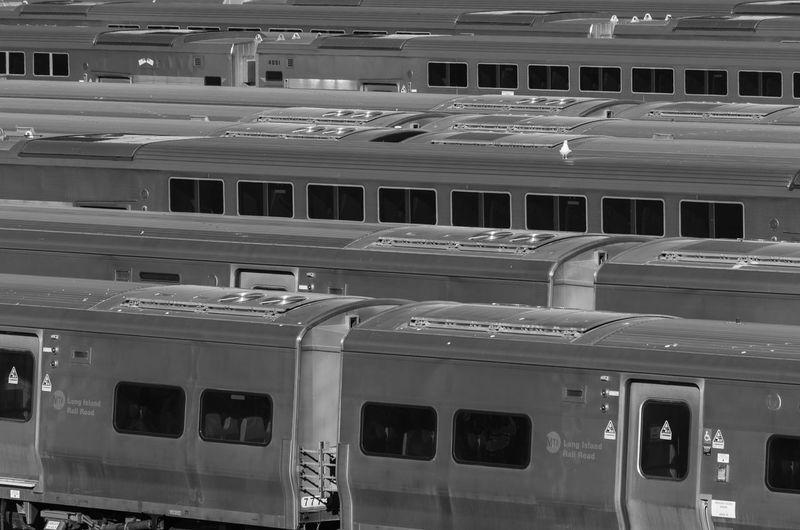 Highline In A Row Mode Of Transport New York Passenger Train Train Yard Transportation Urban