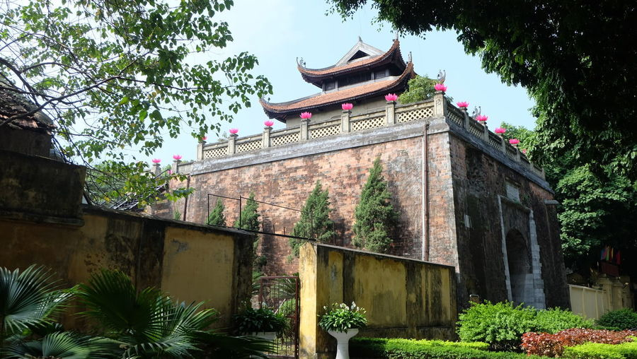 Architecture Built Structure History Outdoors Building Exterior Day Plant Eaves No People Tree Travel Destinations Sky Nature Hanoi, Vietnam Imperial Citadel Of Hanoi