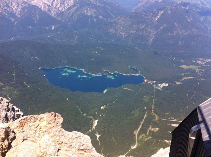 Mountains Enjoying The View Nature Lake